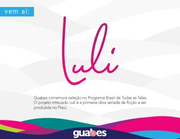 Guabes comemora seleção no Programa Brasil de Todas as Telas