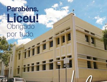 No aniversário de 172 anos do Colégio Liceu, Guabes agradece pela locação da  gravação da primeira série de ficção do Piauí